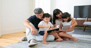 5 Panduan Penggunaan Gajet untuk Anak Anda